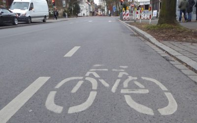 Akuten Unfallgefahrenpunkt auf Dortmunder Straße entschärfen