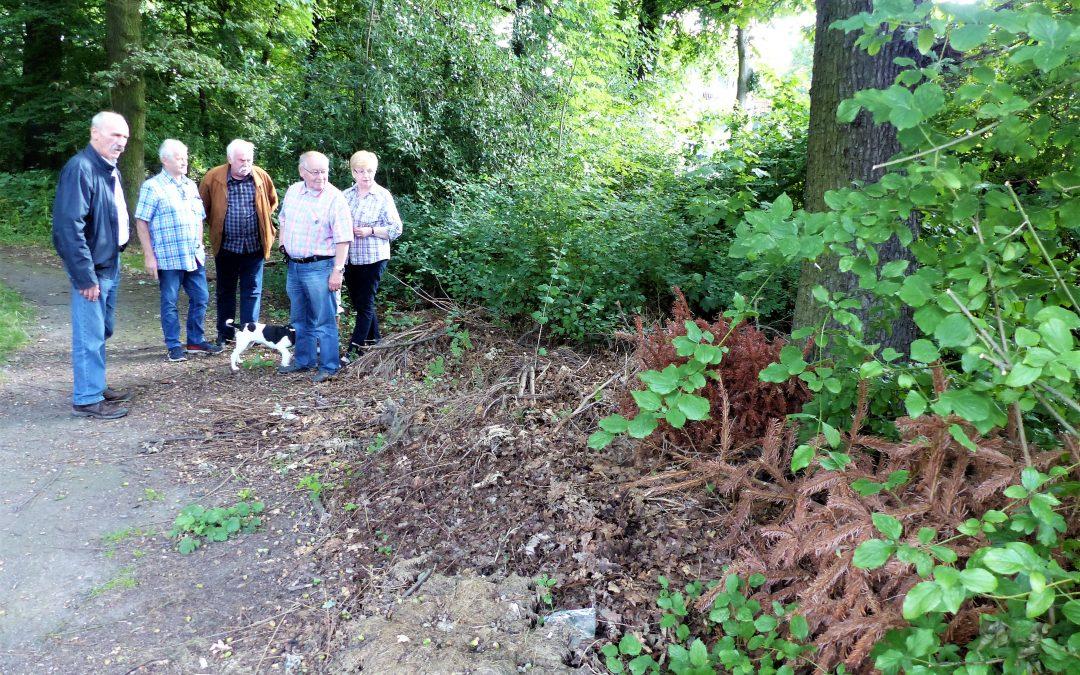 Kleinbecker Park soll bebaut werden