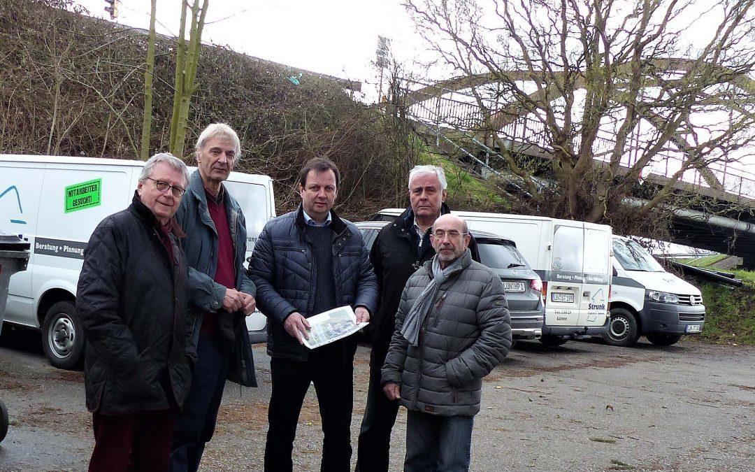 GFL-Fraktion unterstützt Firma Elektro Strunk