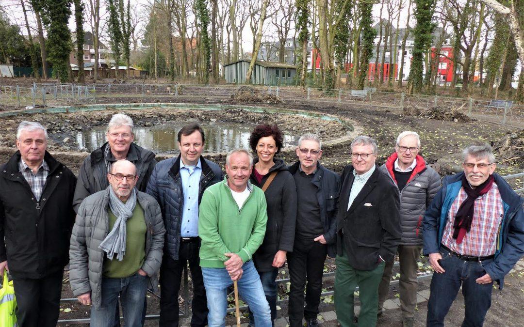 GFL-Fraktion positiv überwältigt vom Volkspark Brambauer