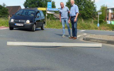Gefährliche Spurrillen am Preußen-Tunnel ausbessern
