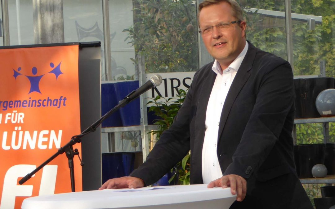 """Kleine-Frauns kandidiert """"aus dem Amt heraus"""""""