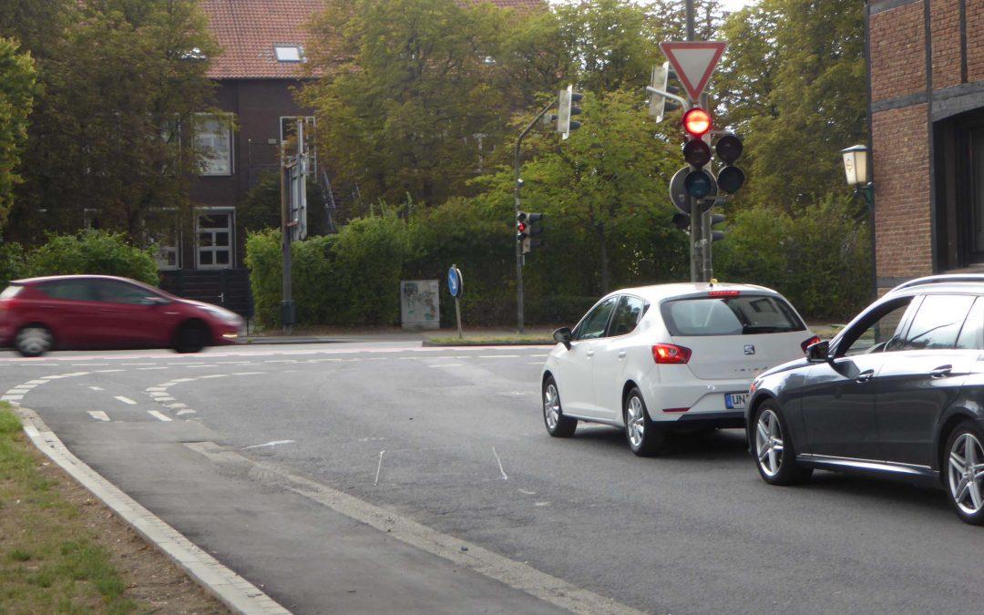 Horstmarer Straße bei Mercedes wird zur Fahrradstraße