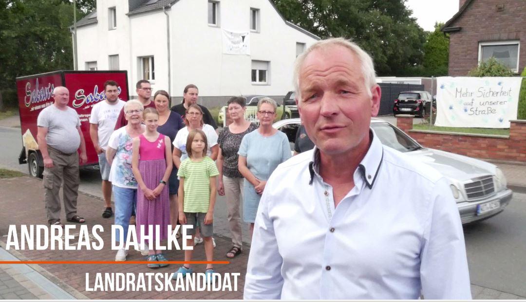 Landratskandidat Dahlke: Lkw-Konzept für die Region